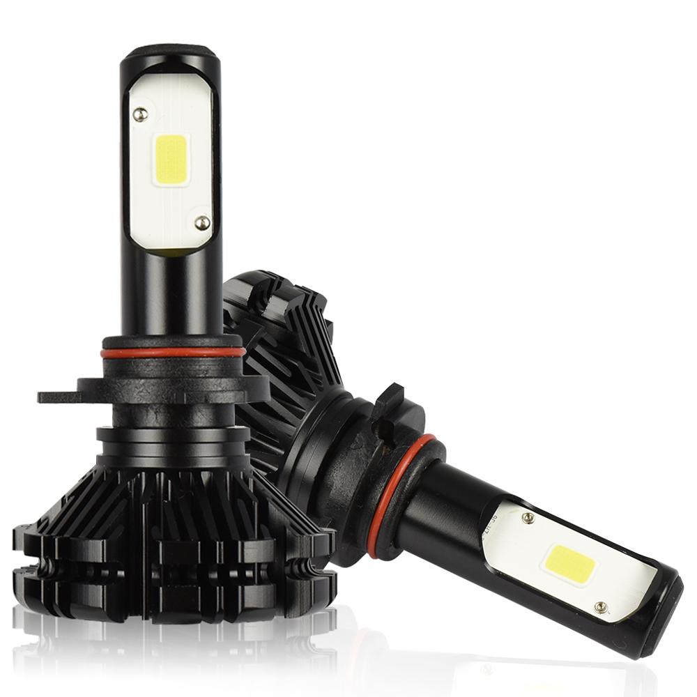 1800W 153000LM 4-Sided 9012 HIR2 LED Headlight Kit High Low Beam Bulbs HID White