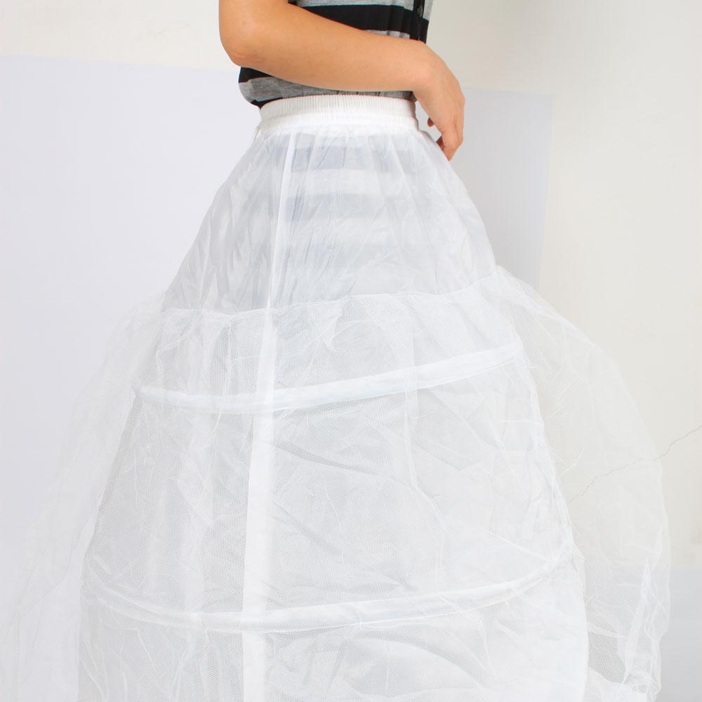 Bridal Hoop Petticoat Crinoline Skirt A-Line Wedding Slip Ball Gown ...