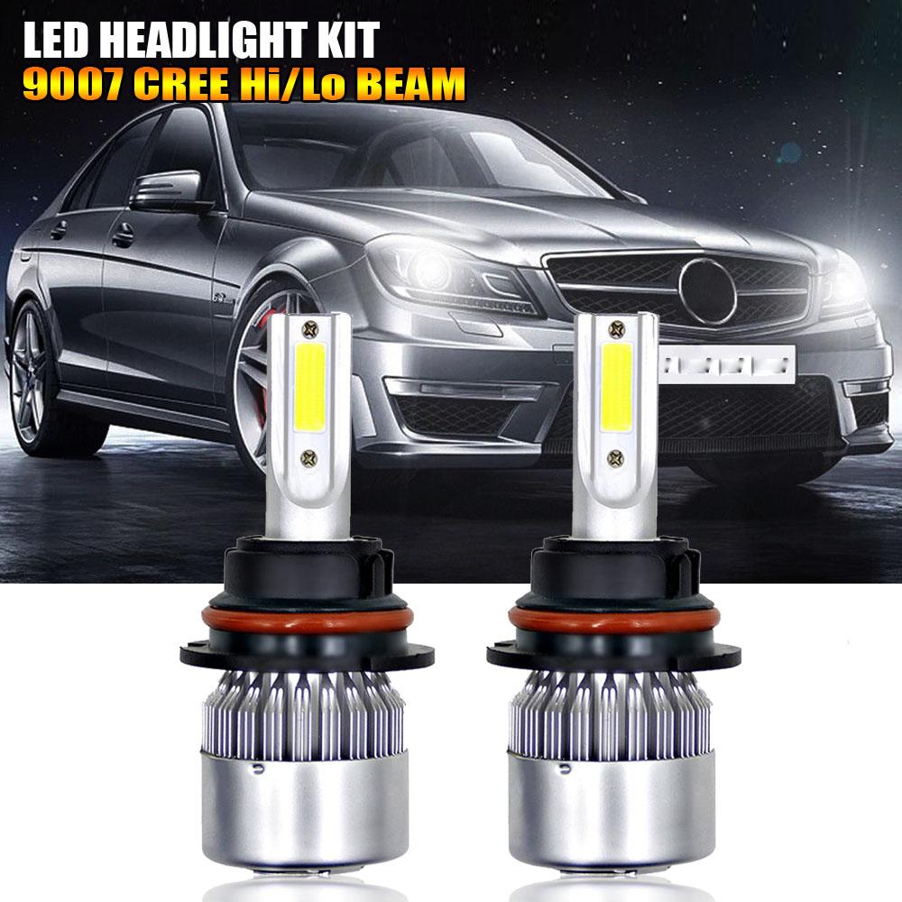 9004 HB1 LED Headlight Kit 1080W 162000LM Conversion Light Bulbs White 6000K HID