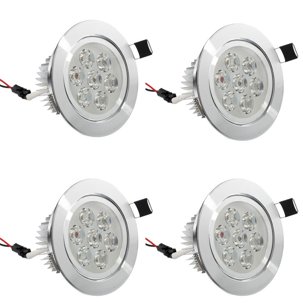 4x 3w 5w 7w Led Ceiling Down Light Recessed Bathroom