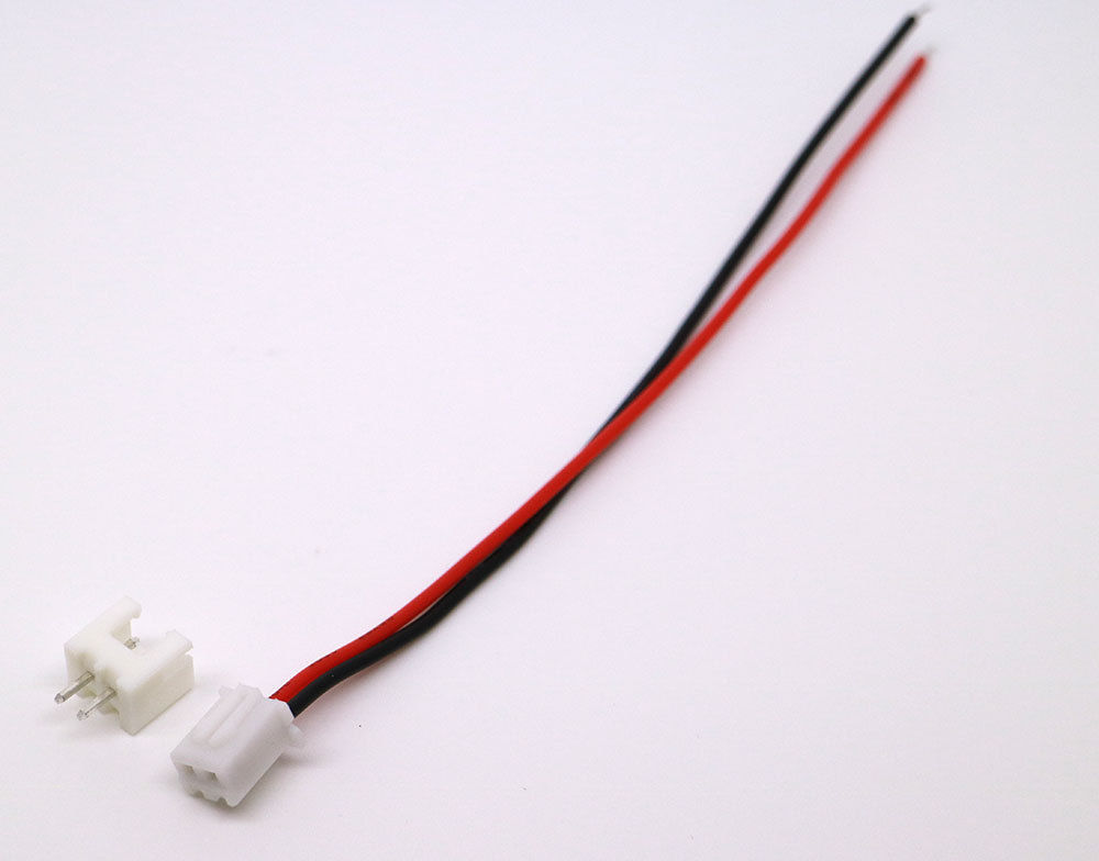10 Sets Jst Xh 2.5-2 Pin Stecker Stecker mit 200mm Wire /& Female Connect