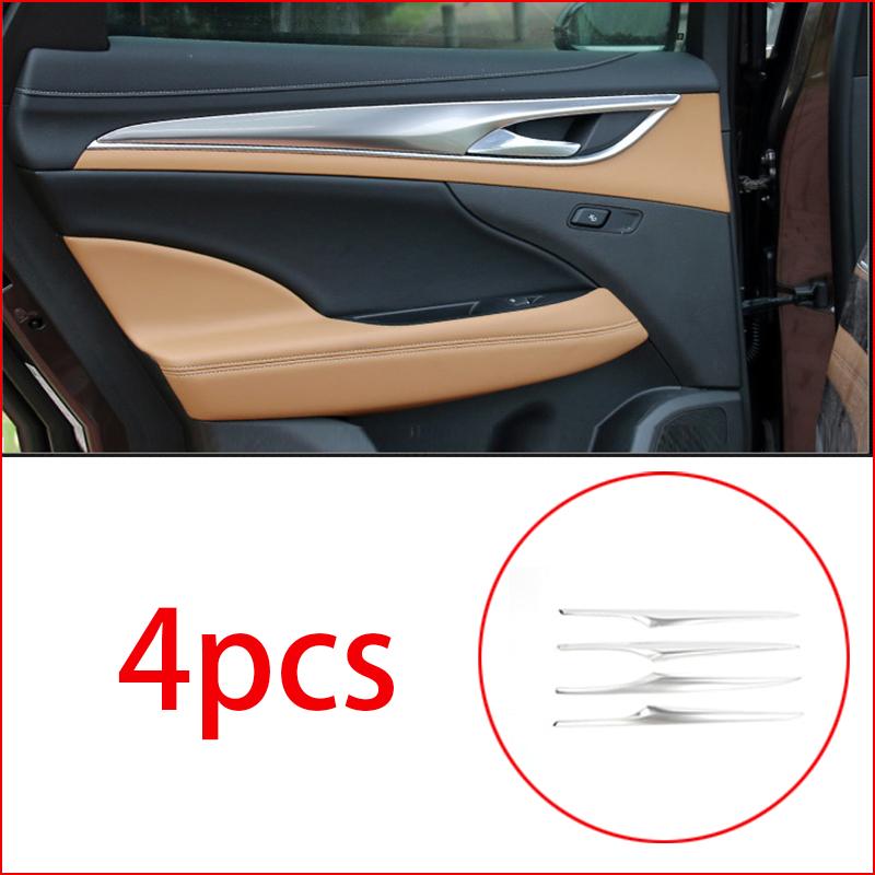 Chrome Pillar Posts fit Buick Lacrosse 10-16 6pc Set Door Trim Mirrored Cover