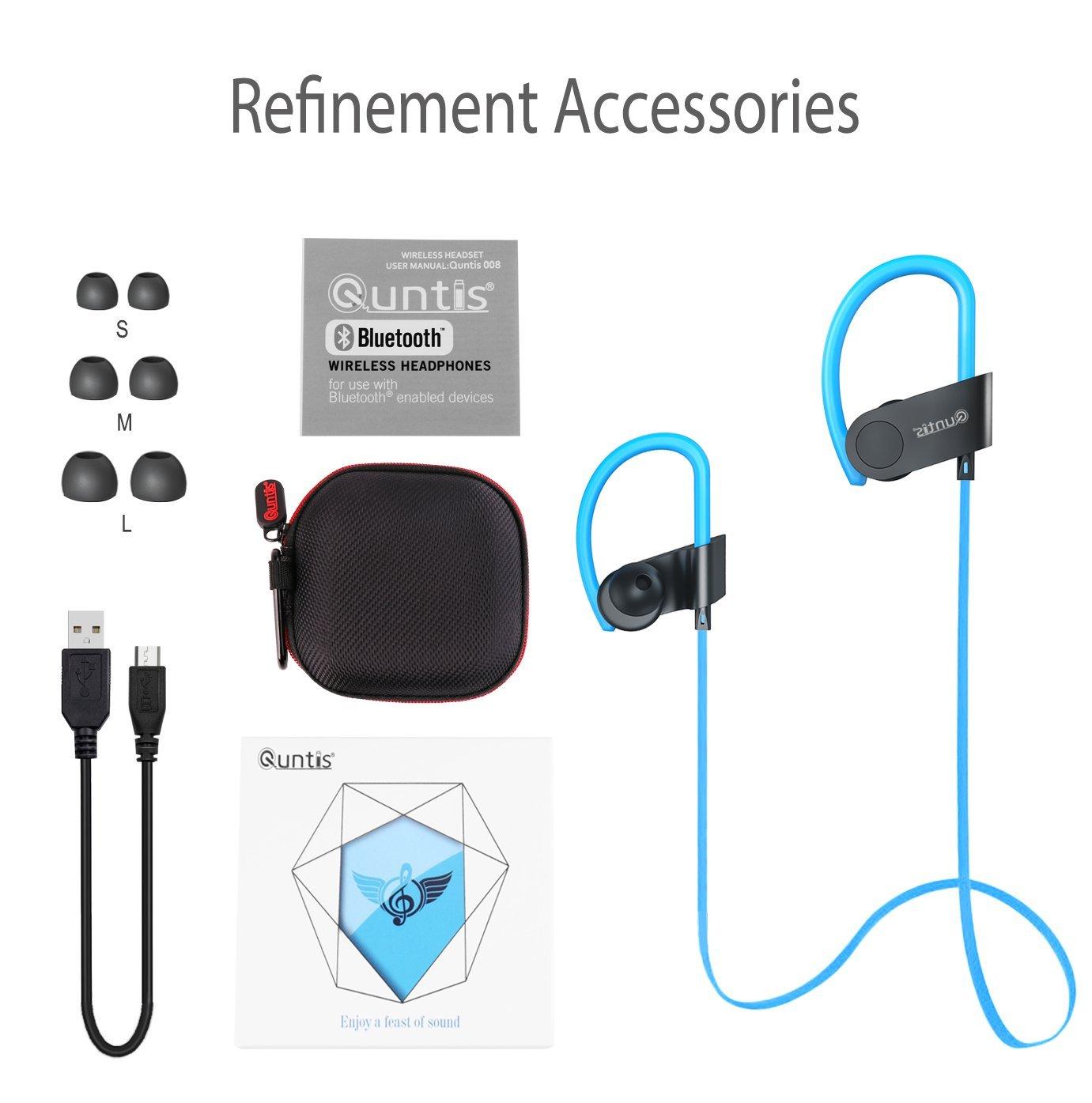 sport wireless bluetooth 4 1 stereo kopfh rer headset in. Black Bedroom Furniture Sets. Home Design Ideas