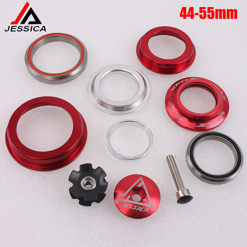 Mountain Bike Bicycle 44-56mm Bearings Tapered Headset Cone tube for 28.6mm Fork