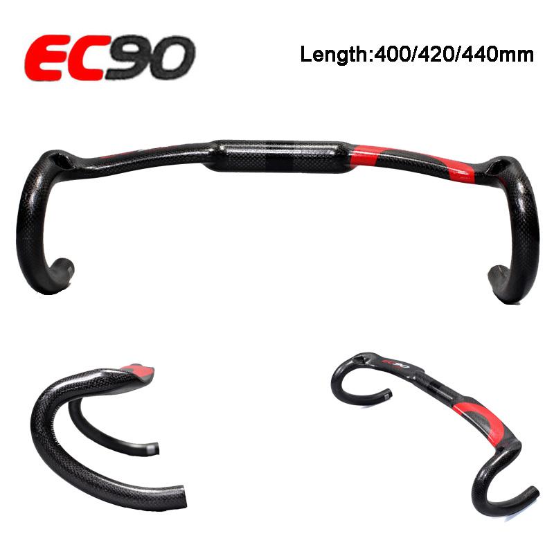 3K EC90 Carbon Fiber Road Bike Bicycle Handlebar Drop Bars 31.8*400//420//440mm