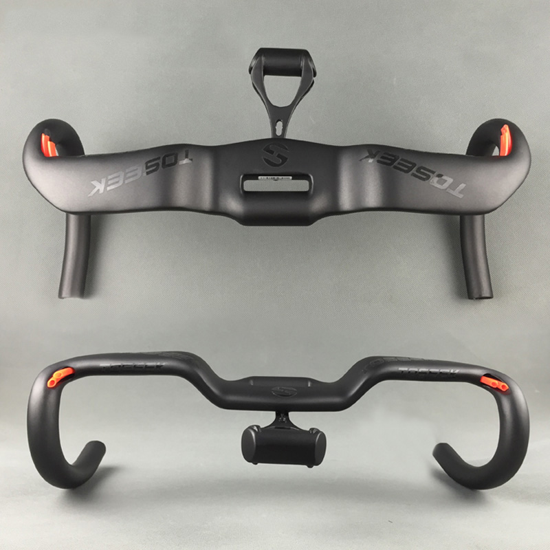 Latest Carbon Fiber Road Bike Handlebar Racing Drop Bar Bicycle Aero Handlebar