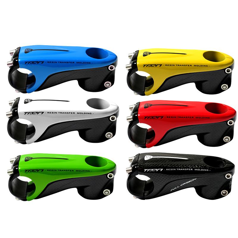 TEMANI 3K Full Carbon Cycling Stem 31.8*80-110mm MTB Road Bike Handlebar Stems