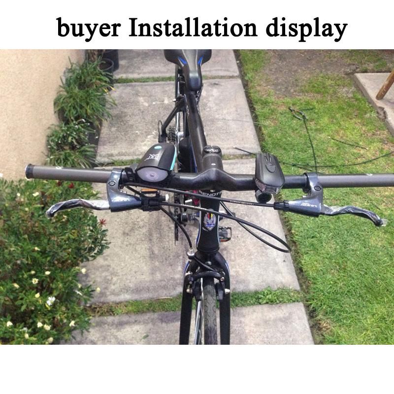 620-720mm Carbon fiber Integrated Bar Stem 28.6 MTB Road Bike Handlebar Flat bar