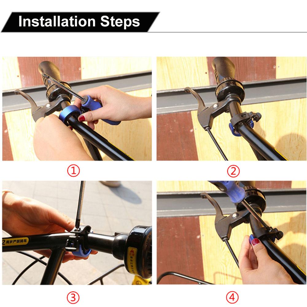 Bike Handle Bar Bells 90DB MTB BMX Road Bicycle Cycling Horn Ring Alarm Aluminum