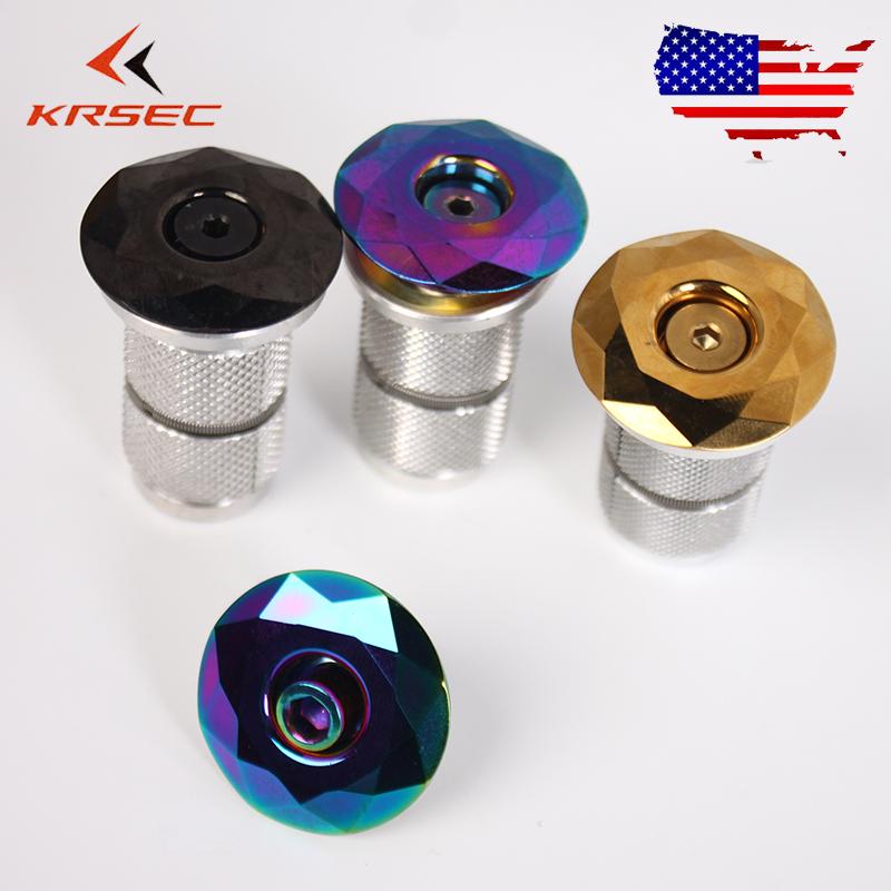 "KRSEC MTB Bike Stem//Fork Top Cover Headset Expander/&Top Cap Plug 1-1//8/"" 1 Set"