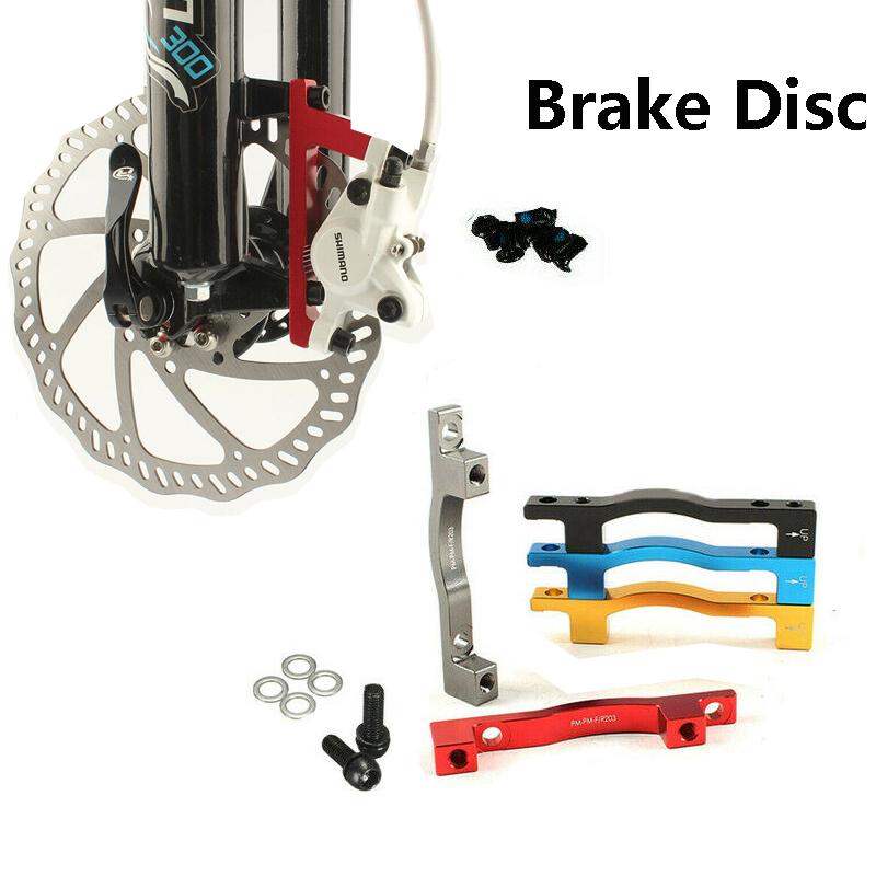 Road Bike Disc Brake Mount Adaptor for MTN MTB 180//203mm Front//Rear PM Caliper