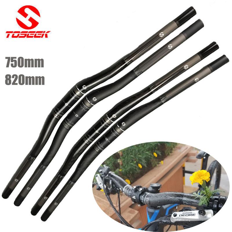 Carbon UD MTB Mountain XC DH Cycling Bike riser bar Handlebar 31.8*750 820 matte