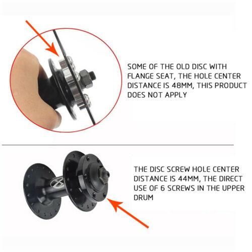 MTB Bike 160//180//203mm Disc Brake 6 Bolts Rotor Calipers fit SHIMANO,Avid,SRAM