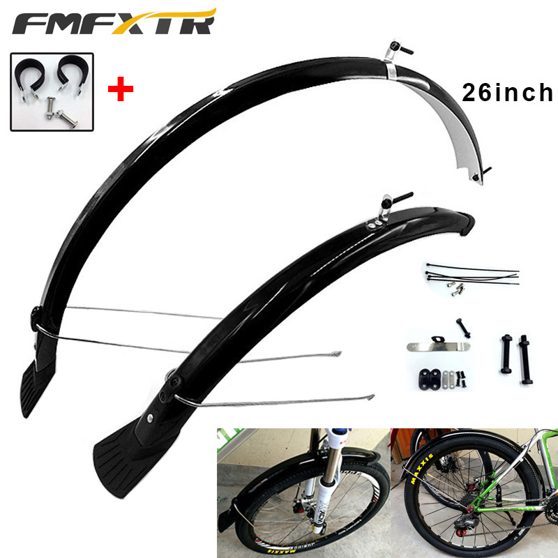 Details about  /MTB Mountain Bike Front Fork /& Rear Mudguard Bicycle Fender Cycling Mud Guard