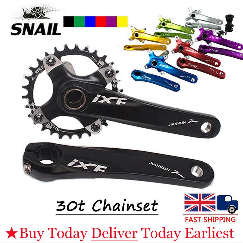 IXF 104BCD 170mm Aluminum Alloy MTB Road Bike Chainring Crank set Ultralight BB