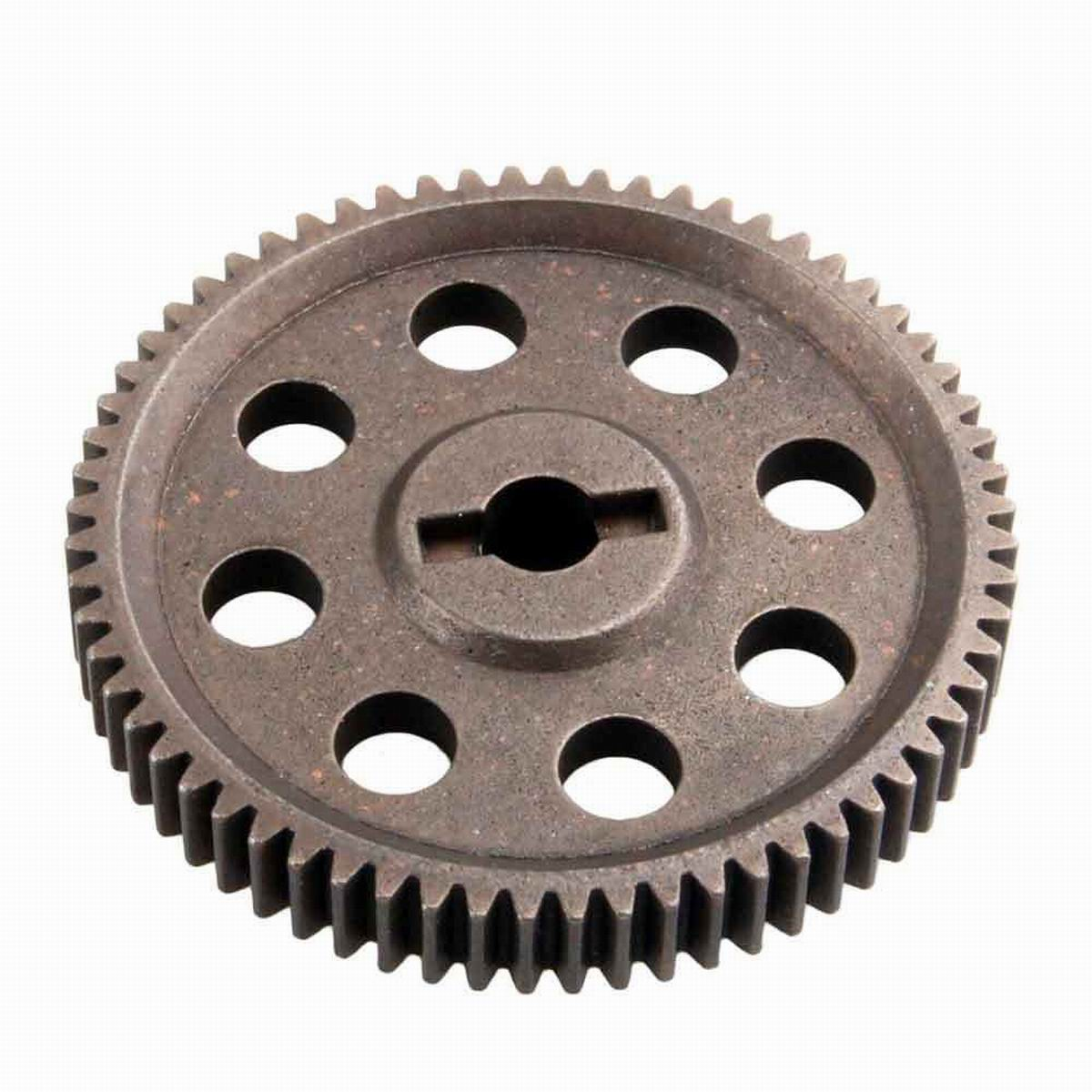 1//10 RC Car Spare Parts 64T Diff Main Gear+17T Motor Gear for HSP Buggy Accs