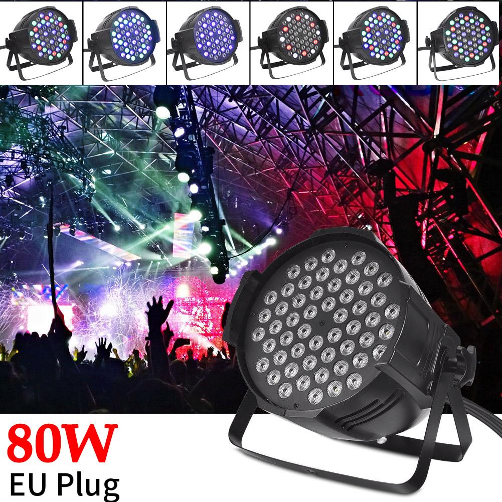 80W LED PAR Bühnenbeleuchtung RGB STAGE Show Licht Bühnenlicht Lichteffekt Lampe