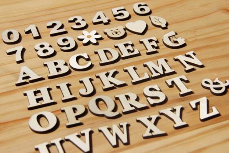 Decorative Standing Letters. Decorative Letters Free