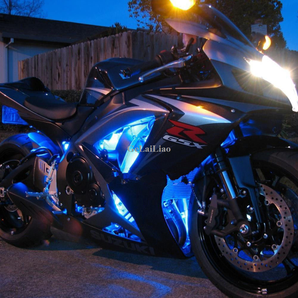 3 smd blue led strip lights lamp for motorcycle under glow accent 3 smd blue led strip lights lamp for motorcycle under glow accent lighting 2pcs aloadofball Choice Image