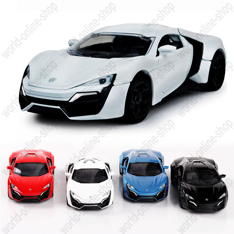 Details about Lykan Hyper Sport 1:32 Alloy Diecast Model Car Toy 4 Moveable  Door Sound&Light