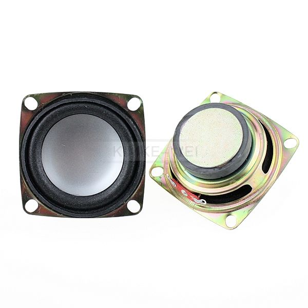 "2pcs 2"" inch 4Ohm 4Ω 3W Full Range Audio Speaker Stereo Woofer Loudspeaker"