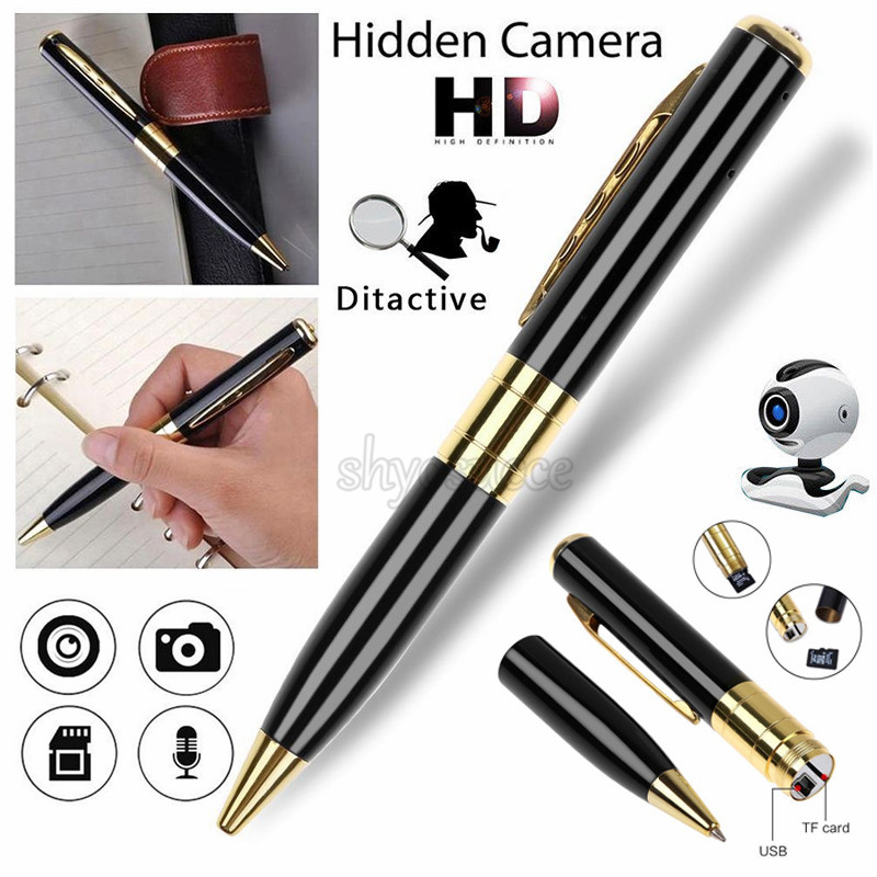 USA 1280x960 HD USB DV Camera Pen Recorder Hidden Security DVR Cam Video Spy