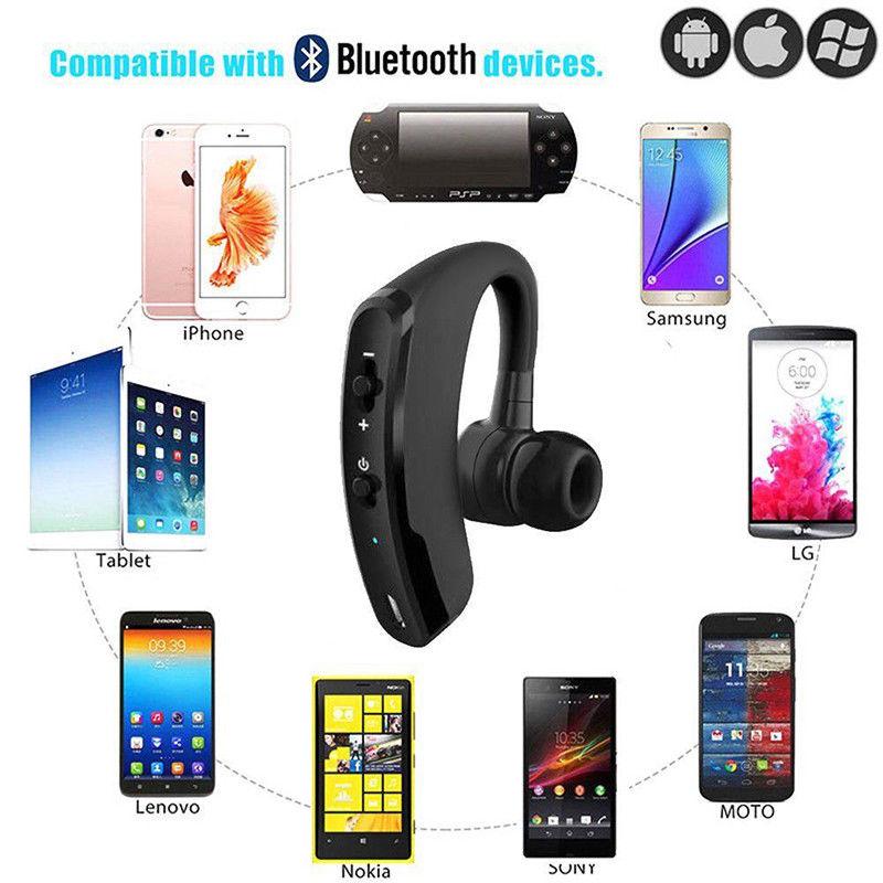 v9 wireless bluetooth 4 0 headset kopfh rer. Black Bedroom Furniture Sets. Home Design Ideas