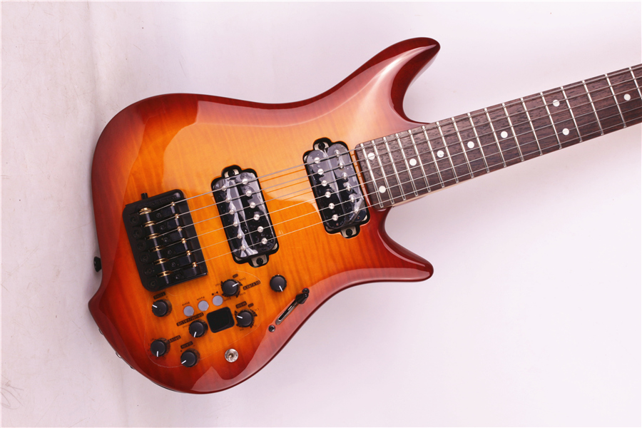 2018 new grote brand headless electric guitar built in effect ebay. Black Bedroom Furniture Sets. Home Design Ideas