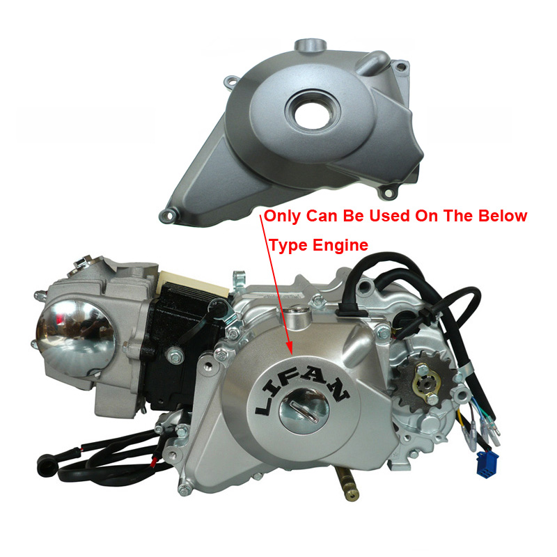 Grey Electric Start Engine Stator Cover For Lifan 50 110 ...