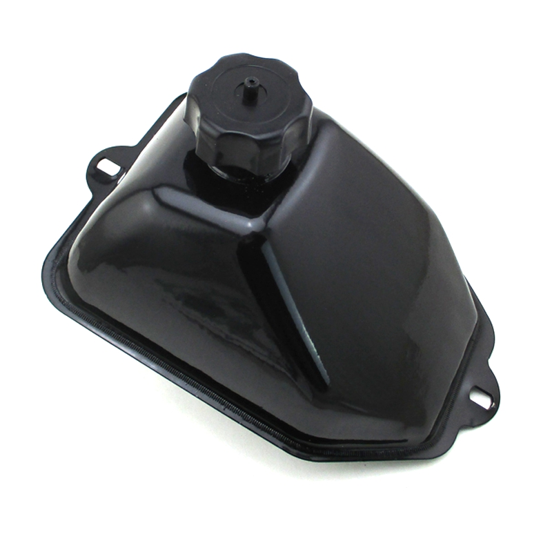 HIAORS Metal Fuel Gas Tank With Cap Over for Coolster 3050A TaoTao Buyang Coolsport Sunl Eagle JCL Peace Chinese 50cc 70cc 90cc 110cc 125cc ATV Quad 4 Wheeler Parts