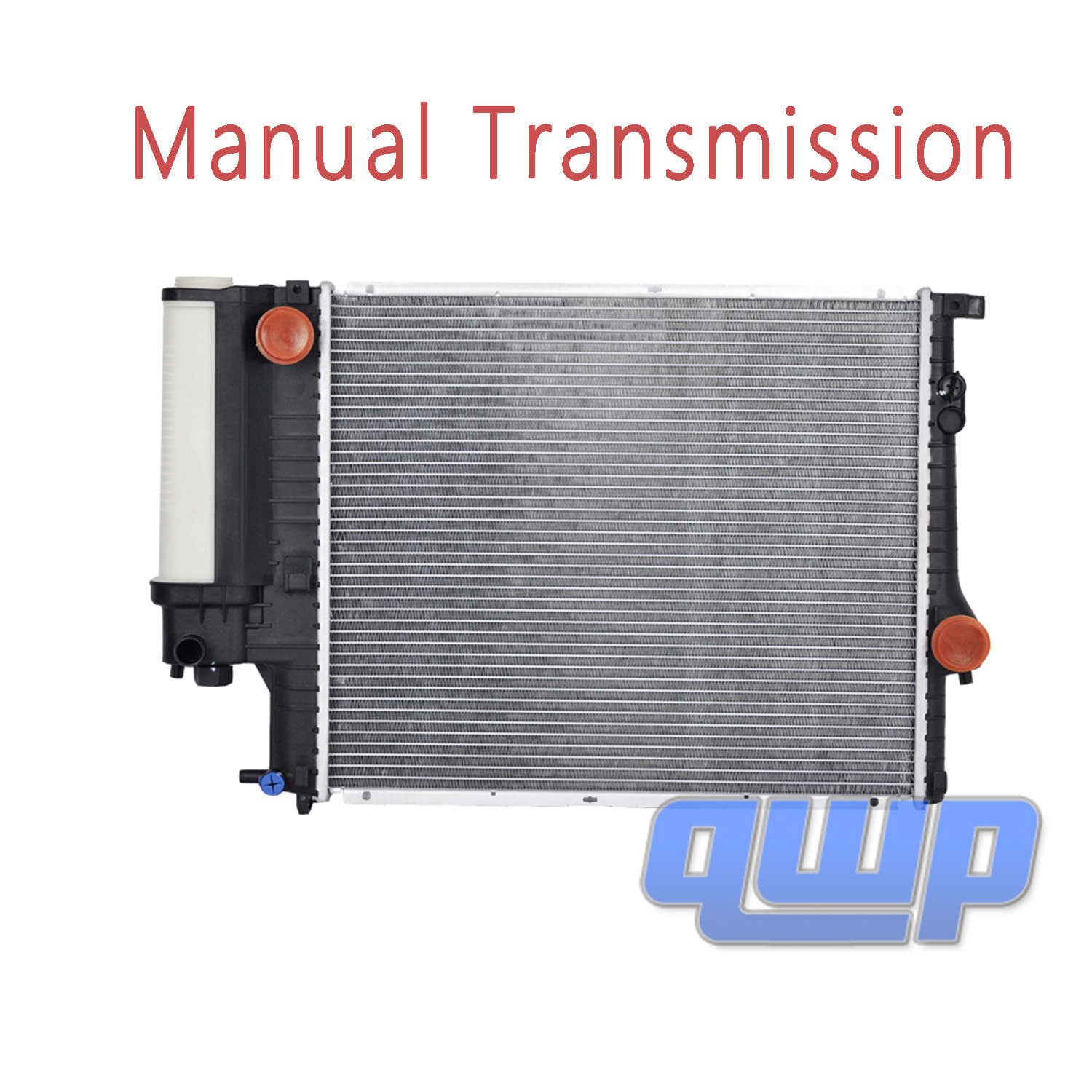 New M//T Radiator W// Attached Tank For BMW 520i 523i 528i 5 E39 2.8L 17111740701