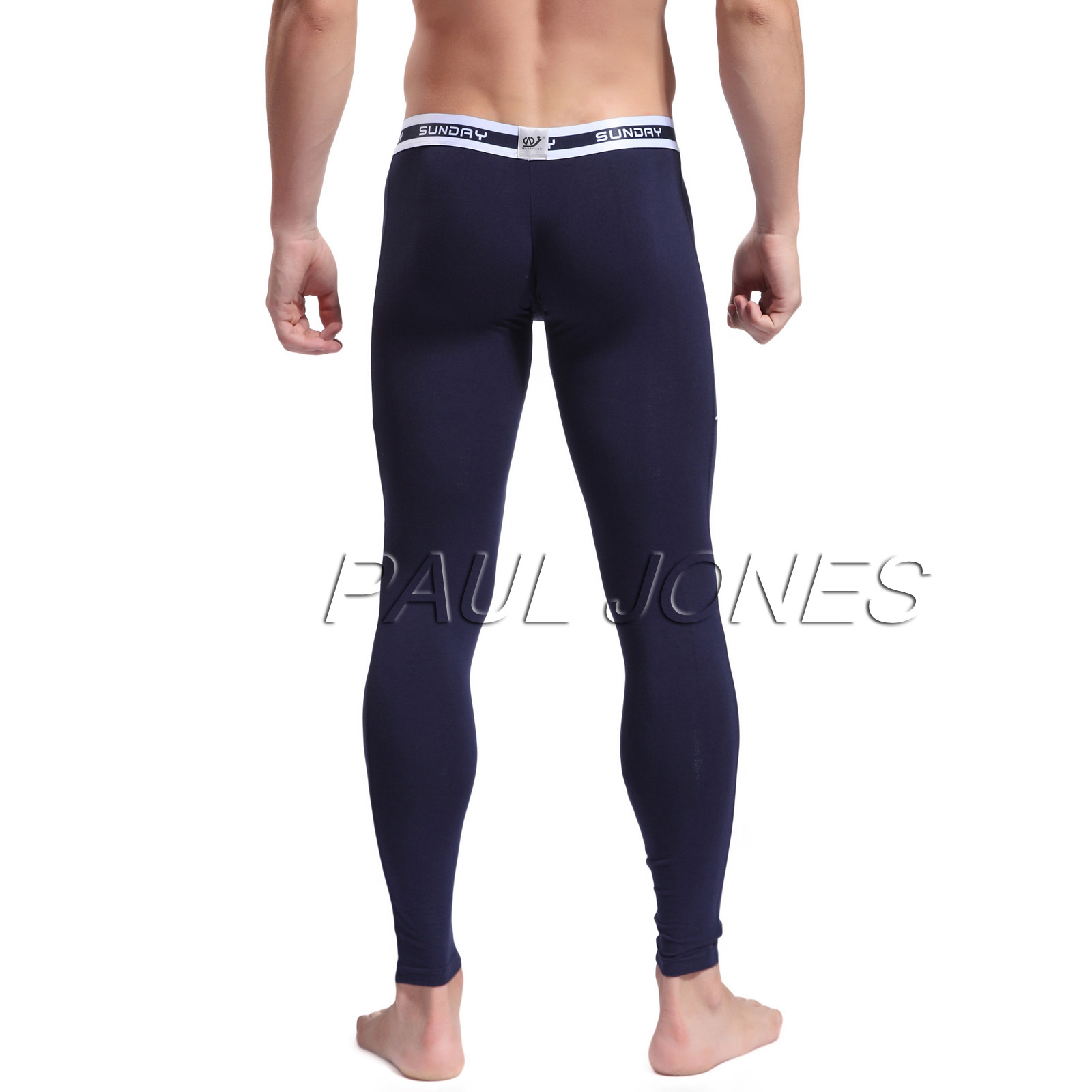 Mens Thermo Underwear Bottoms Leggings Inner Pants Long ...