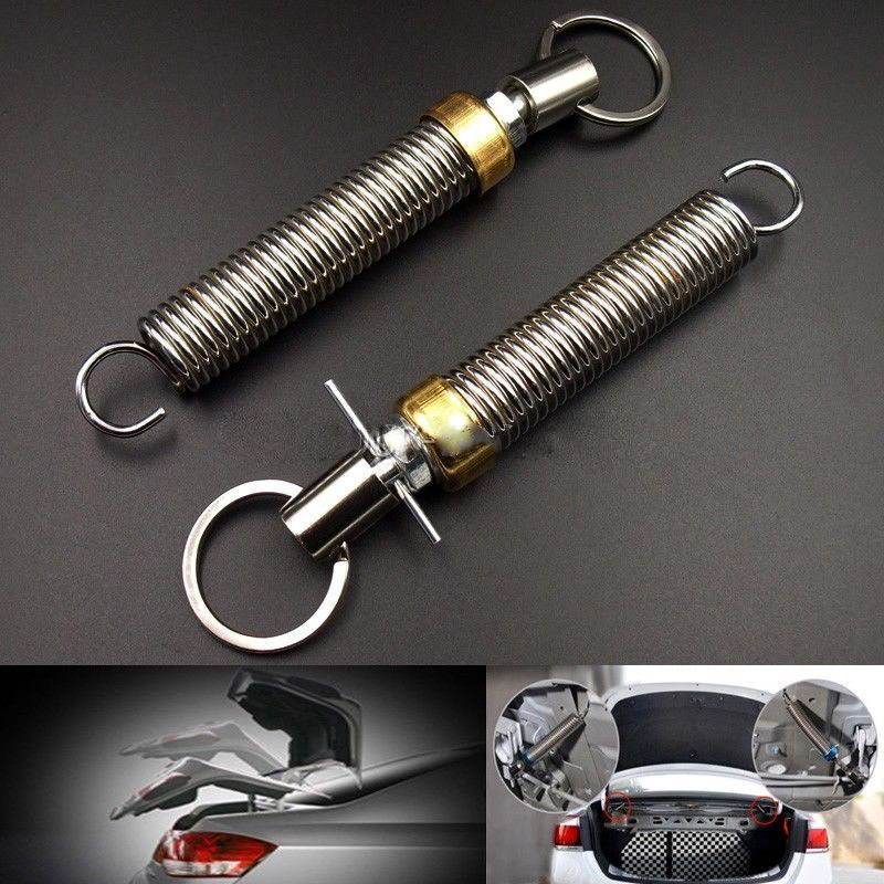 Pair Adjustable Automatic Car Trunk Boot Lid Lifting Spring Device Vehicle