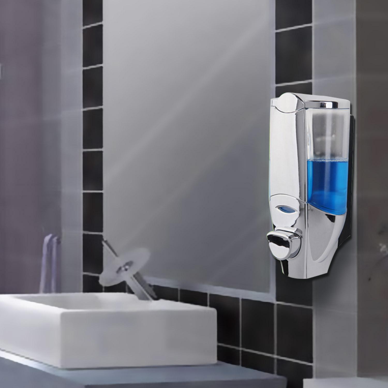 ABS Wand Einzelkopf Seifenspender Shampoo Spender 300ml nachfüllbar ...