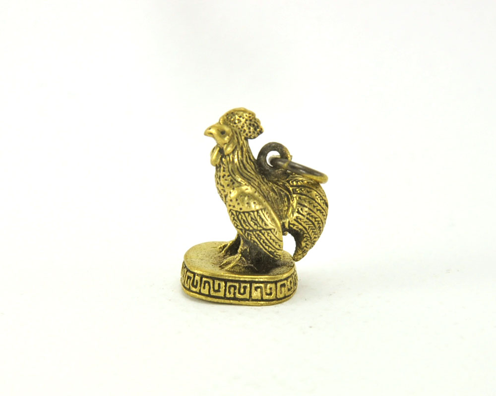 Vintage Magic Chicken Rooster Lucky Rich Thai Miracle Amulet Pendant Gift