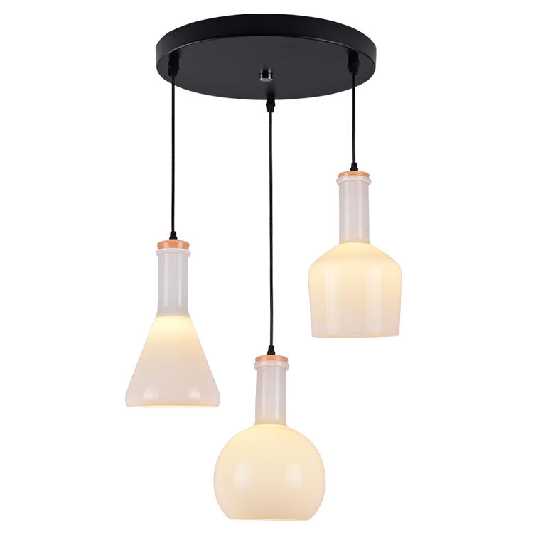6c617629acac Labware Glass Medicine Magic Bottle Pendant Lamp Ceiling Lighting ...