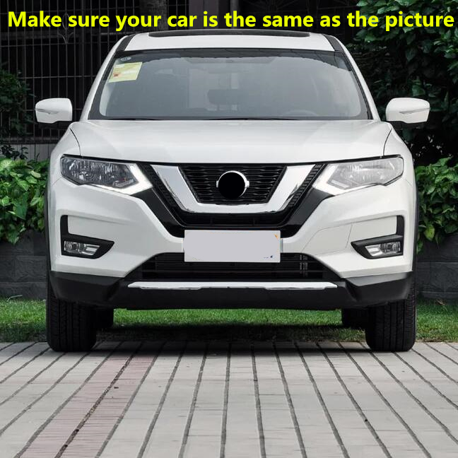 For Nissan Rogue X-Trail 2017 2018 2019 LED Fog Light DRL