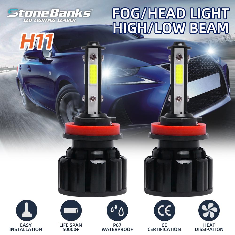 Ford Ranger 100w Clear Xenon HID High//Low Beam Headlight Headlamp Bulbs Pair