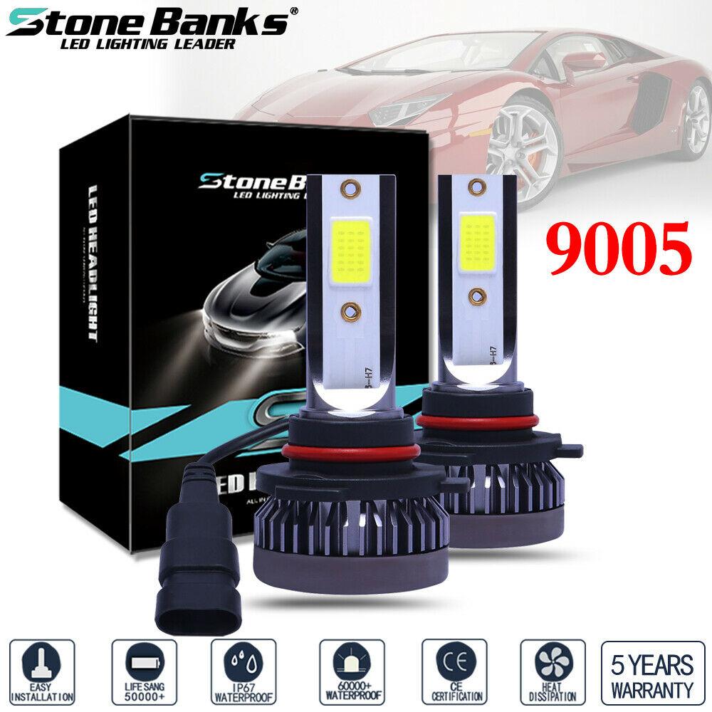 H11 120W 26000LM LED Headlight Driving Fog Light Replacement Bulbs Kit 6000K