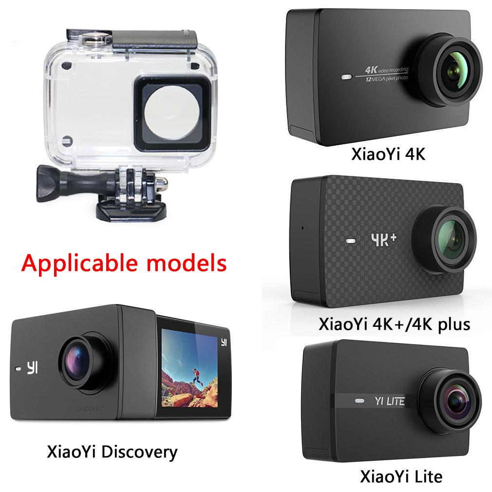 .Yi Discovery .Yi Lite .Yi 4K Plus .4K 30m buceo caso con Xiaomi Yi 4K