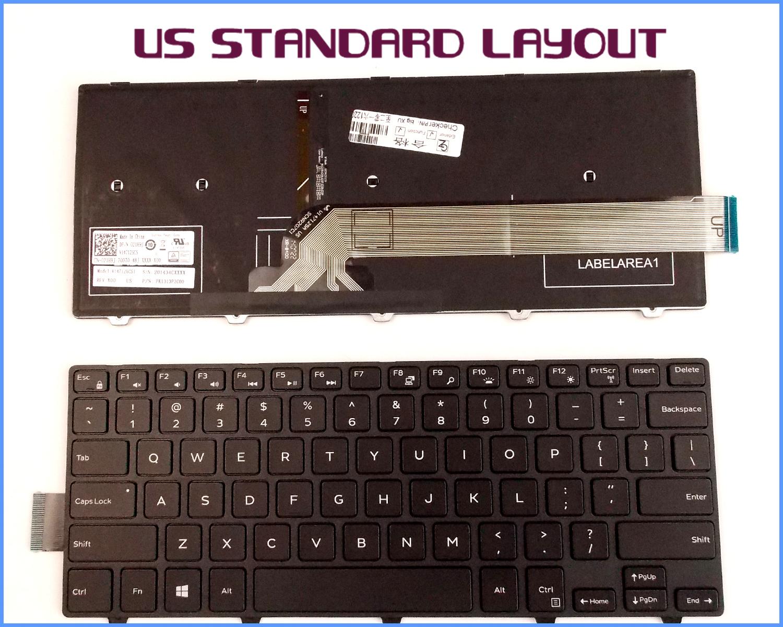 New Laptop Keyboard For Dell Latitude E6220 E6230 E6320 E6330 PD7Y0 US w//Backlit