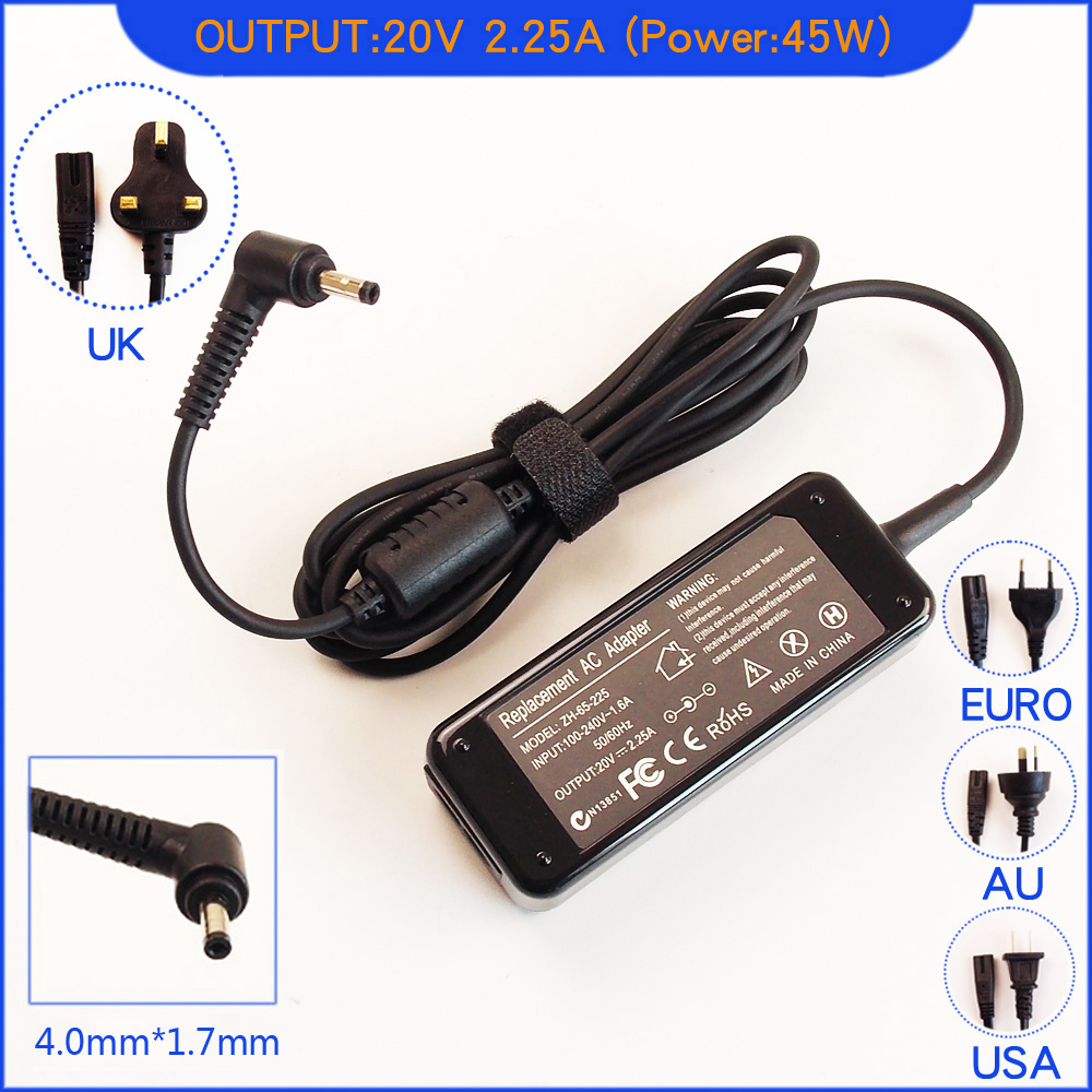 45w Ac Adapter Charger For Lenovo Ideapad 320 320 14isk 320 14ikb Laptop Supply Ebay