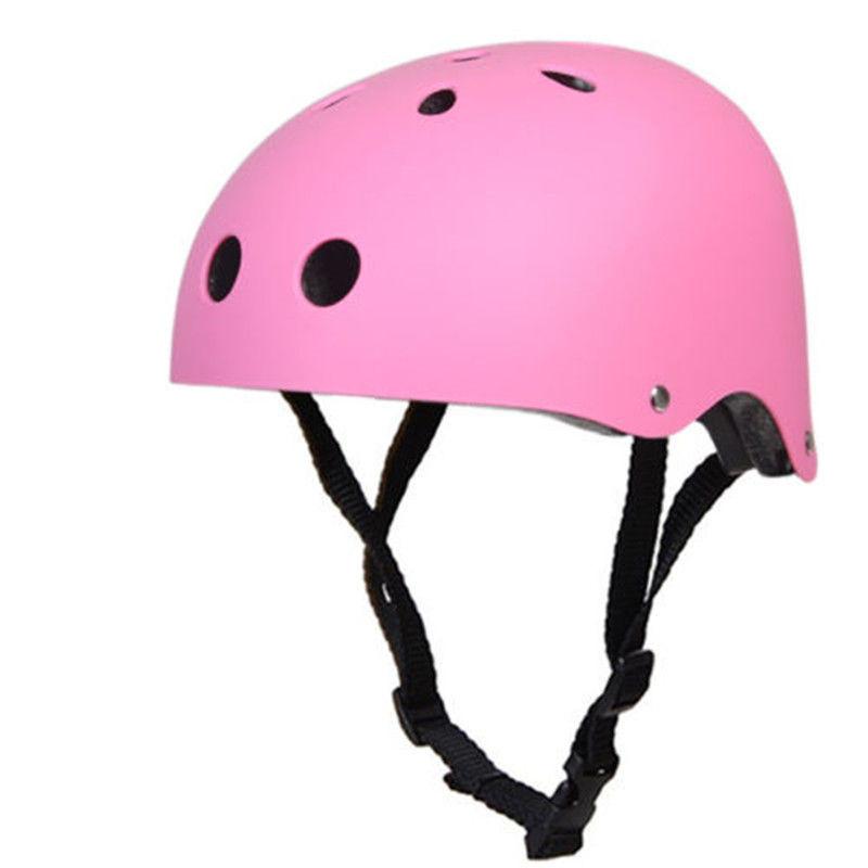 Kid Matte Adult Crash Skateboard Helmet For Skate Scooter Stunt Cycling BMX Bike