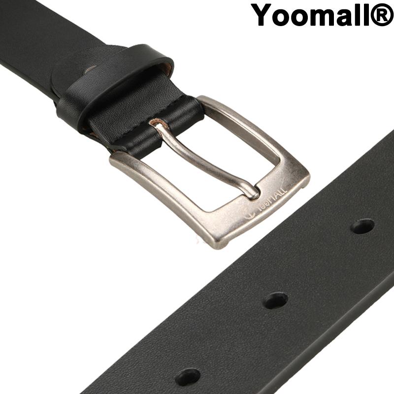 Men/'s Casual Jean Belt 35MM Genuine Dakota Leather Signature Buckle+PunchingTool