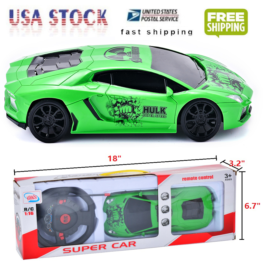 Toys For Kids Boys Remote Control RC Car Birthday Gift 3 4 5 6 7 8 9