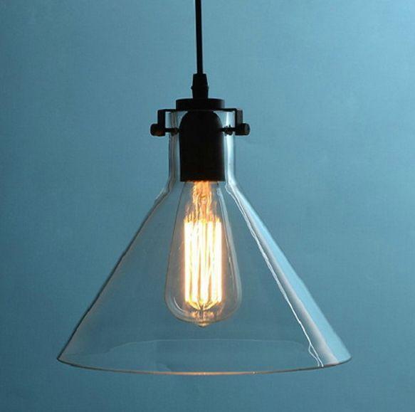 edison pendant lighting. Vintage Industrial DIY Huge Size Ceiling Lamp Light Glass Pendant Lighting Bulb Edison A
