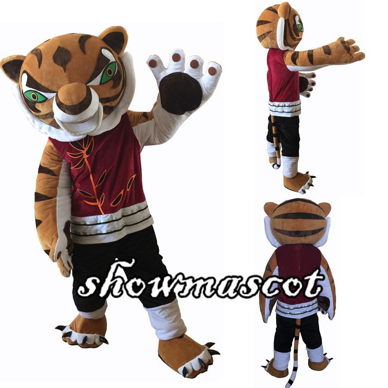 kung fu panda po amp tigress mascot costume - Tigress Halloween Costume