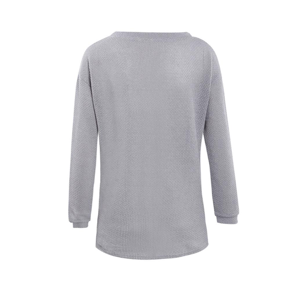 Winter Sweater Women New Long Sleeve Loose Knitwear Jumper ...