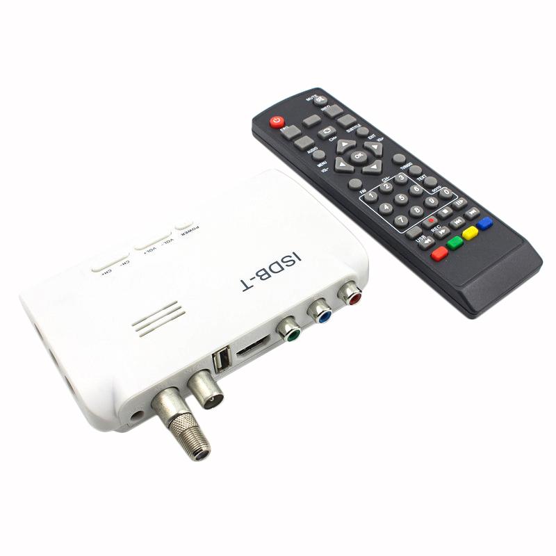 1080P ISDB-T Digital Terrestrial Convertor TV BOX Receiver EU//US Remote Control