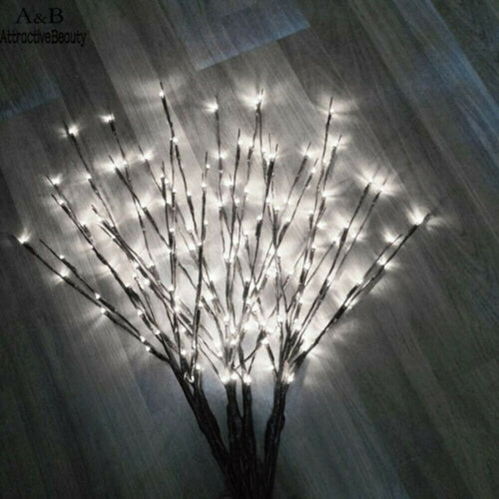 20 Led Light Twig Branches Battery Powered Lights Branch